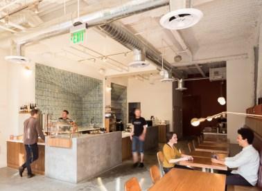 Mazarine Coffee San Francisco Market St.