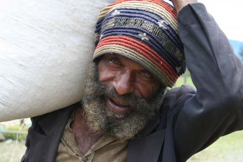Papua New Guinea Coffee Labourer by Aarlie Hull
