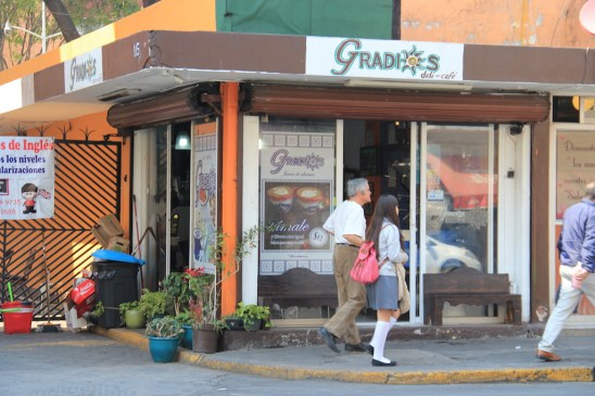Gradios Cafe Mexico City