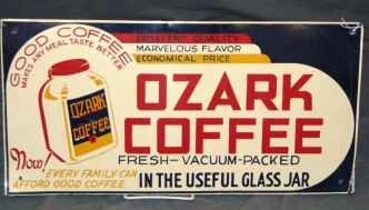 Ozark Coffee sign