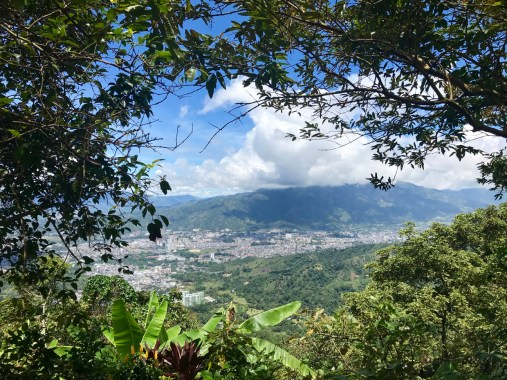 The view from Finca Santa Barbara