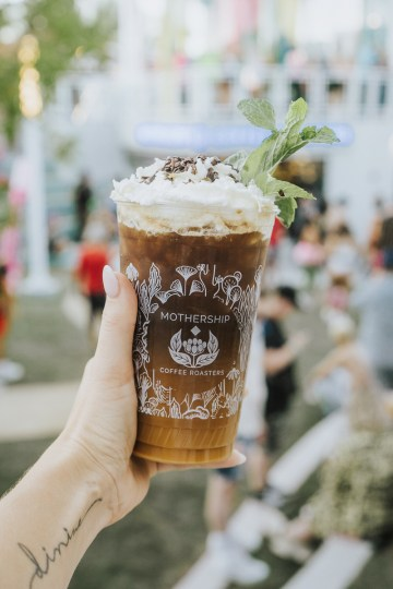 Mothership Coffee cold brew drink