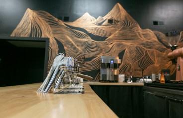 Crucible Coffee Roasters bar