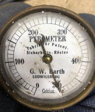 Probat pyrometer