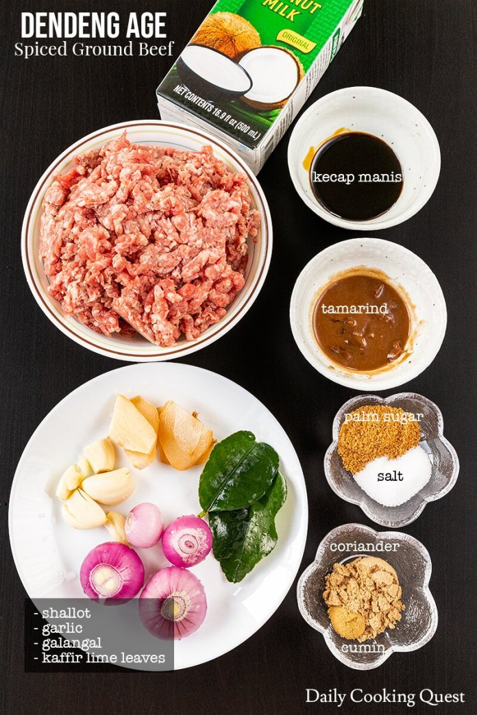 Dendeng Age Spiced Ground Beef Recipe Daily Cooking Quest