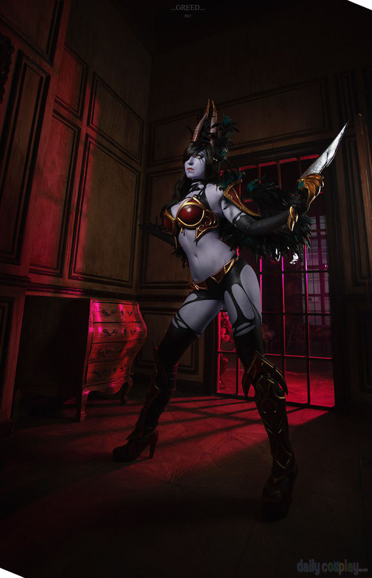 Queen Of Pain From Dota 2 Daily Cosplay Com