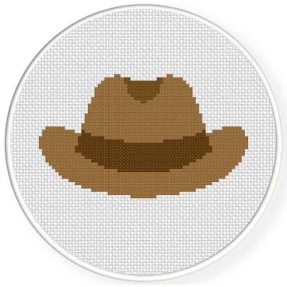 cowboy hat pattern # 10