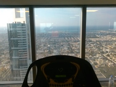 53th floor, view from the gym