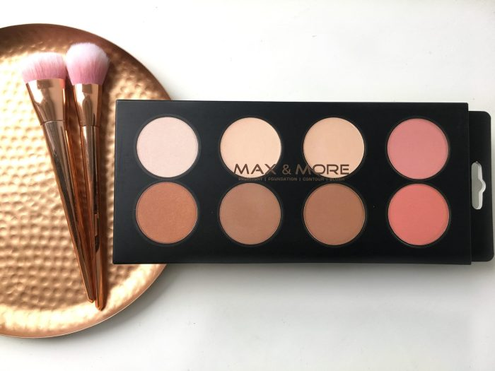 ACTION MAX&MORE PALETTE HIGHLIGHT| FOUNDATION| CONTOUR| BLUSH