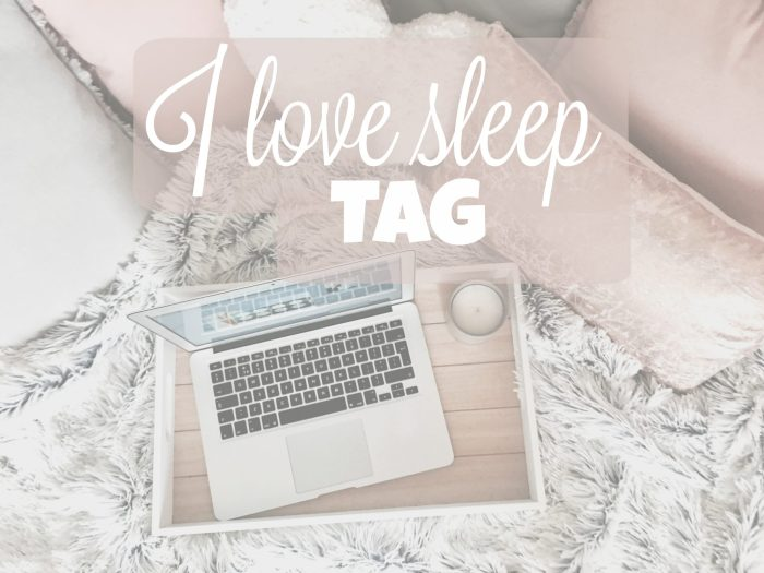 I LOVE SLEEP TAG