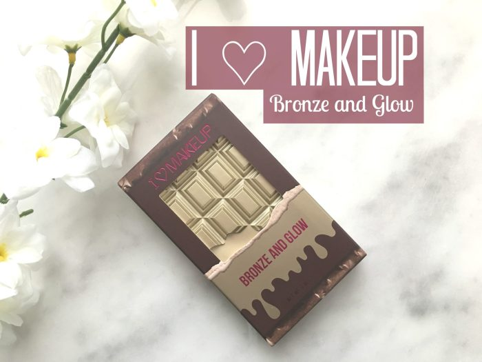 I ♡ MAKEUP BRONZE AND GLOW PALETTE