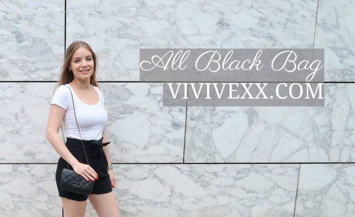 ALL BLACK BAG + KORTINGSCODE | VIVIVEXX.COM