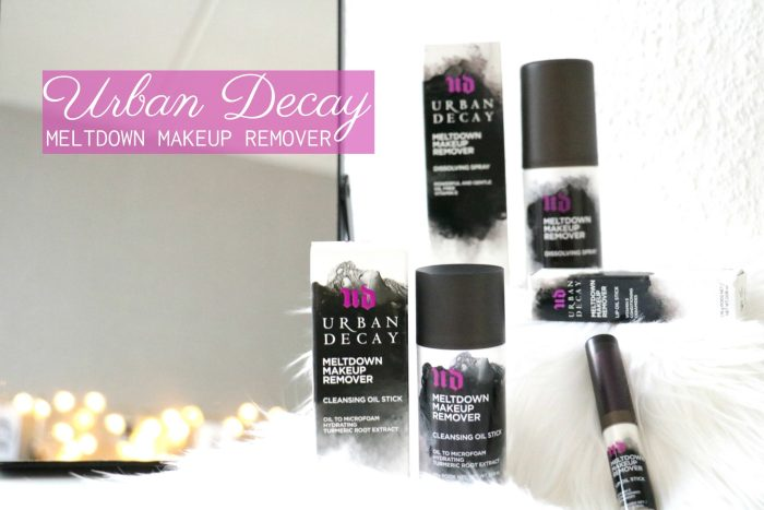 URBAN DECAY MELTDOWN MAKEUP REMOVERS