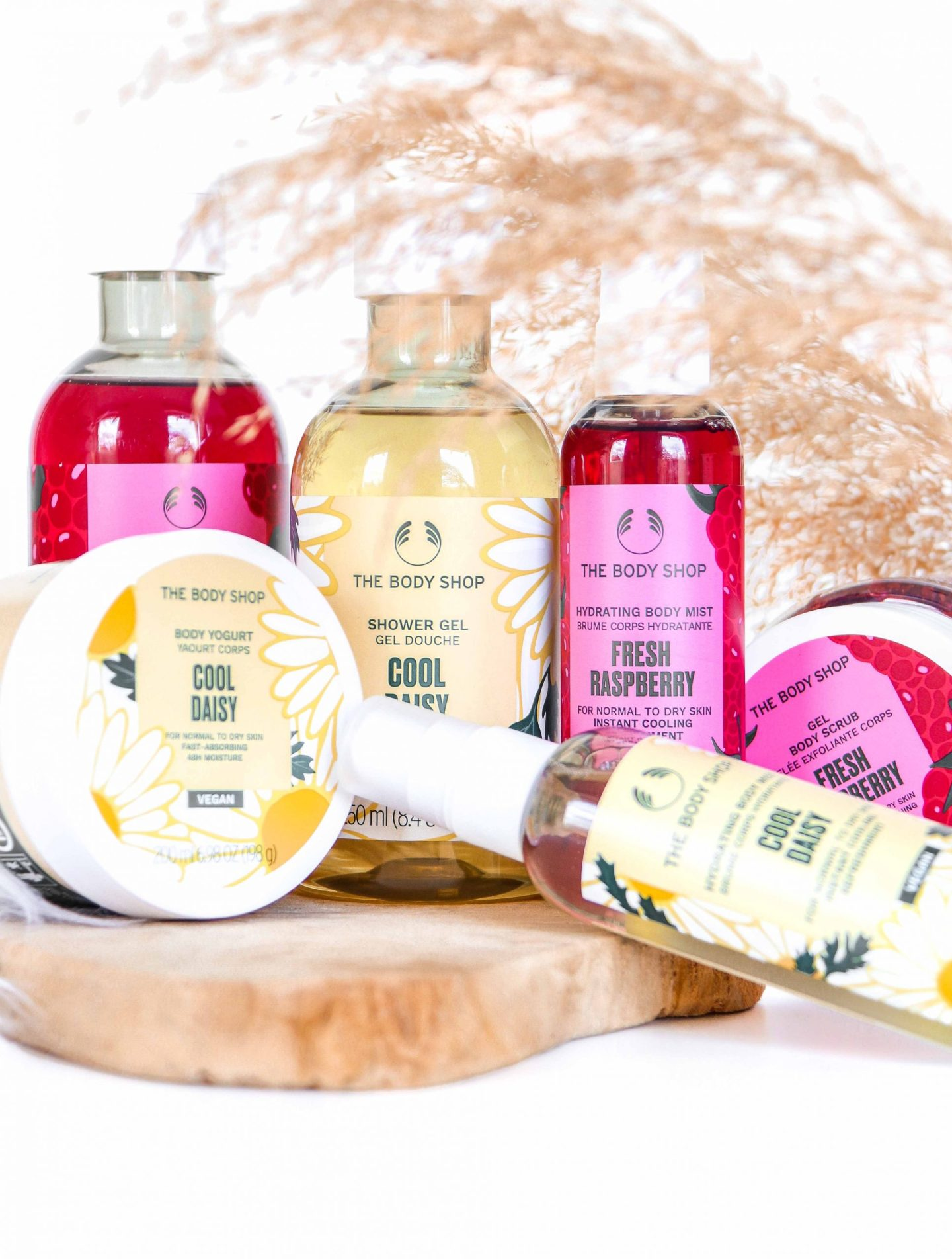 COOL DAISY & FRESH RASPBERRY SPECIAL EDITION | THE BODY SHOP
