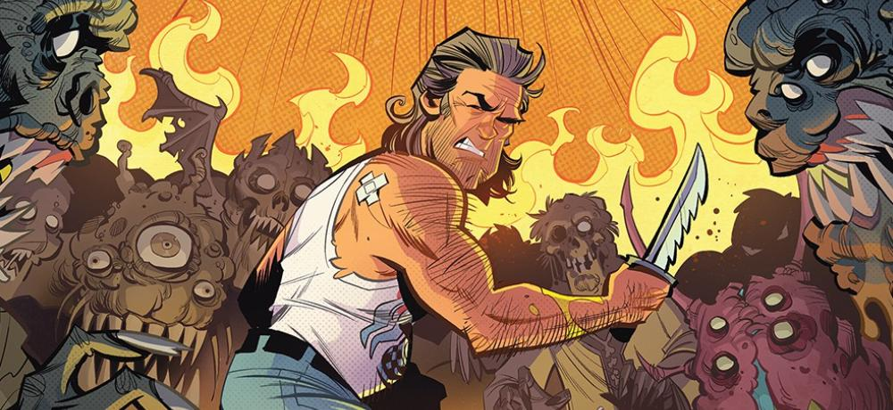 Image result for big trouble in little china comic