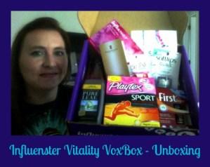 Influenster Vitality VoxBox!