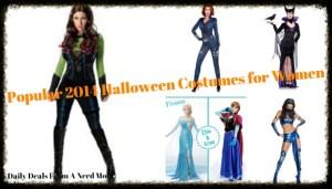 Popular 2014 Halloween Costumes for Women