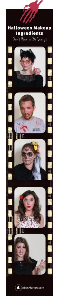 5 Halloween Looks Using Natural Makeup
