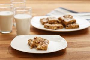 No-Bake Peanut Butter Energy Squares