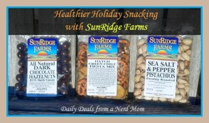 Healthier Holiday Snacking with SunRidge Farms