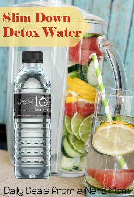 Slim Down Detox Water Recipe