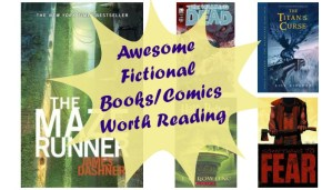 Awesome Fictional Books/Comics Worth Reading