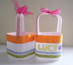 Eco Friendly Easter Baskets Tutorial