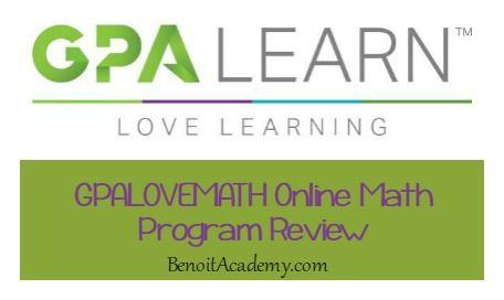 GPALOVEMATH Online Math Program from GPA LEARN Review