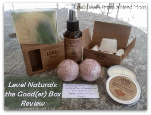 Level Natural: the Good(er) Box Review