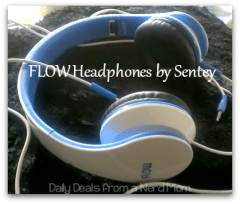 FLOW Headphones by Sentey Review >> Daily Deals from a Nerd Mom