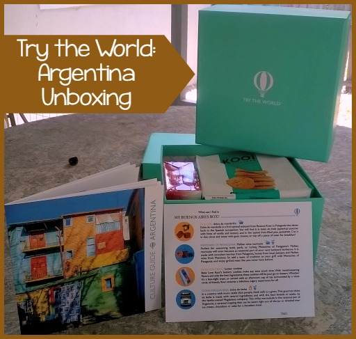 Try the World: Argentina Unboxing