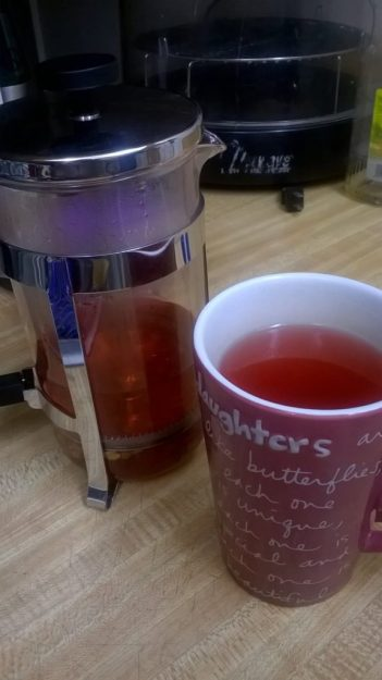 Relaxer Tea in French Press
