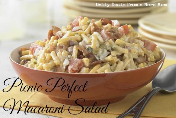 Picnic Perfect Macaroni Salad