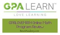 GPALOVEMATH Online Math Program