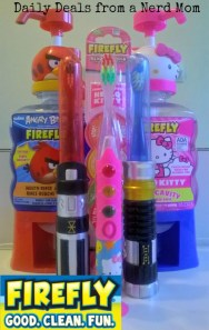 Firefly Toothbrush and Mouthwash Review