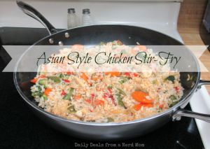 Asian Style Chicken Stir-Fry #Recipe