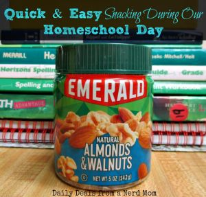 Quick & Easy Snacking During Our Homeschool Day
