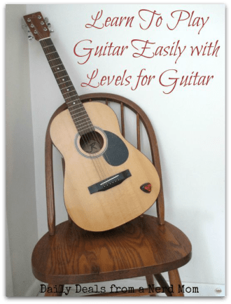 Learn To Play Guitar Easily with Levels for Guitar