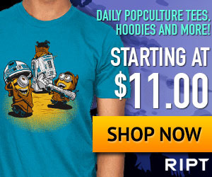 RIPT Apparel - $11 Pop Culture Daily Tees #Review