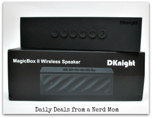 DKnight Magicbox II Bluetooth Speaker Review