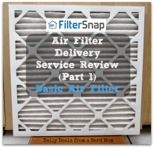 Filter Snap Air Filter Delivery Service – Basic Filter