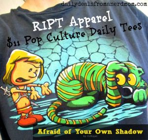 RIPT Apparel – $11 Pop Culture Daily Tees Review