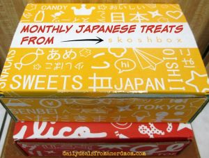 Get Monthly Japanese Treats with Skoshbox!