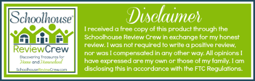 Schoolhouse Review Crew Disclaimer