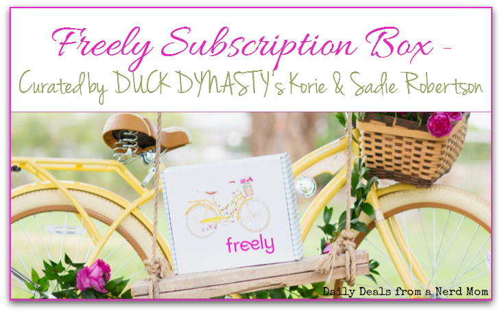 Freely Subscription Box Curated by DUCK DYNASTY's Korie & Sadie Robertson‏