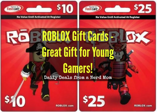 ROBLOX Gift Cards - Great Gift for Young Gamers