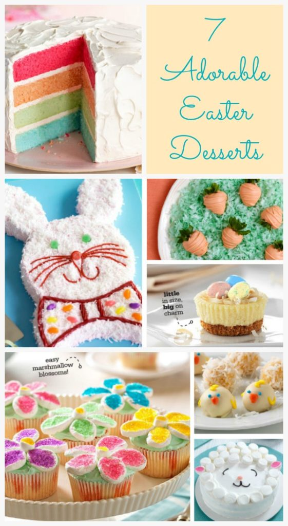 7 Adorable Easter Desserts