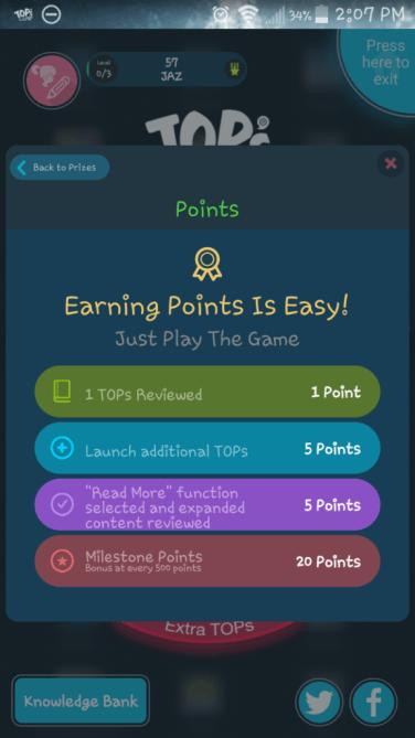 TOPs Balance App