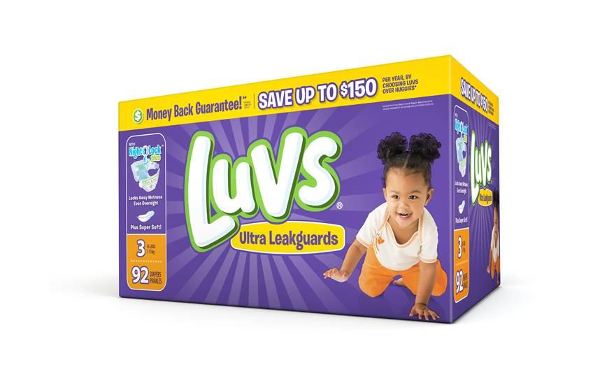 Save on Luvs Diapers with $2 & $1 Off Coupons!