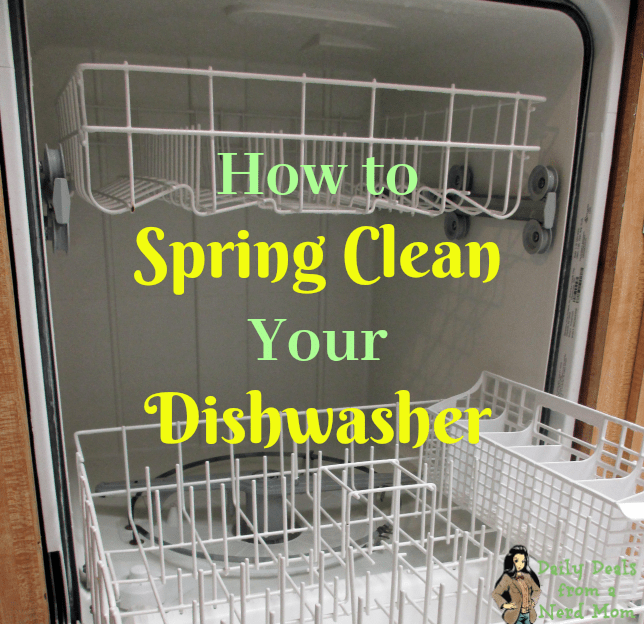 How to Spring Clean Your Dishwasher